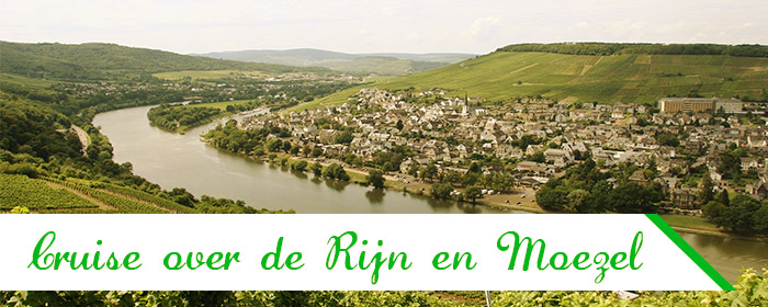 Cruise over de Moezel en Rijn